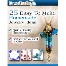 25 Easy to Make Homemade Jewelry Ideas