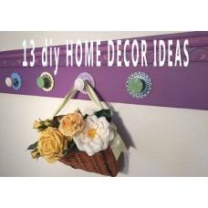 13 DIY Home Decor Ideas