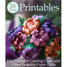 Printable Cards and other Paper Crafts