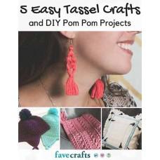 5 Easy Tassle Crafts